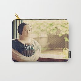 Woman in a Window Carry-All Pouch