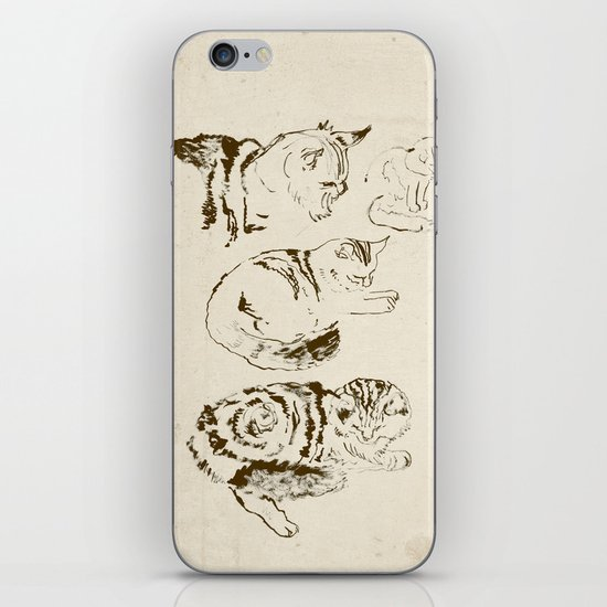 Harryhausen (full page version) iPhone & iPod Skin