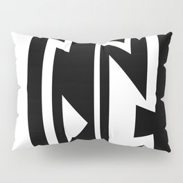 Triangles in Lines Pillow Sham