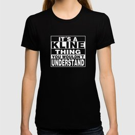 KLINE Surname Personalized Gift T-shirt