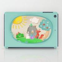 happy birthday iPad Cases featuring happy birthday by Lidija Paradinović Nagulov - Celandine