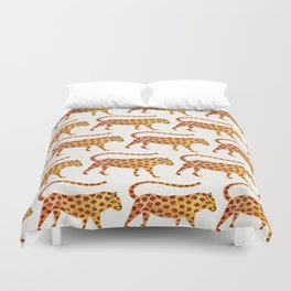 Jaguar Pattern Duvet Cover