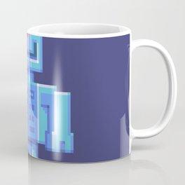 Magnetron pixel robot Coffee Mug
