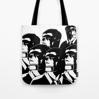1984 Tote Bags featuring 1984 by It's Mandra™