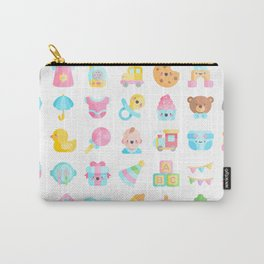 CUTE BABY PATTERN Carry-All Pouch