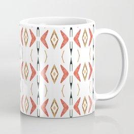 Ethnic symmetrical floral ornament Coffee Mug