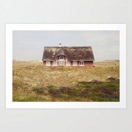 Danish house Art Print