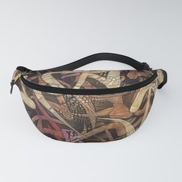 red statement Fanny Pack