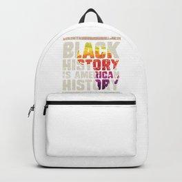 Black History Is American History Backpack