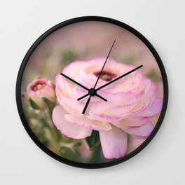Delicate Spring Wall Clock