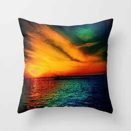The Bright Side of the Sun Throw Pillow