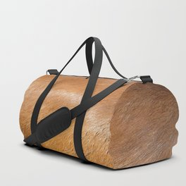 Horse Hide rustic decor Duffle Bag