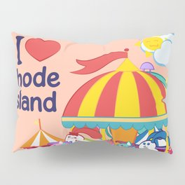 Ernest and Coraline | I love Rhode Island Pillow Sham