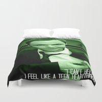 bazinga Duvet Covers featuring Sheldon Cooper by Paxton Keating