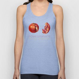 Pomegranate, Punica granatum Unisex Tank Top