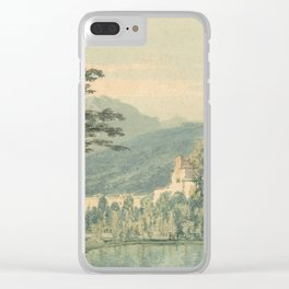 "J.M.W. Turner ""Sir William Hamilton's Villa"" Clear iPhone Case"