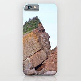 Indian Head Rock iPhone Case