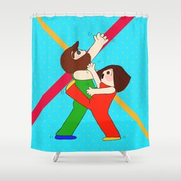 Dance! Shower Curtain