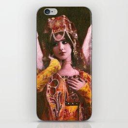 Decorative Vintage Angel iPhone Skin