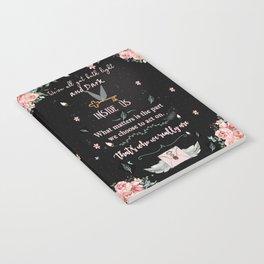 Light and Dark Notebook