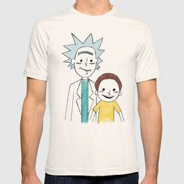 A Study of Squanch Mondernism T-shirt