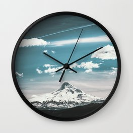 Mountain Morning - Nature Photography Wall Clock