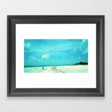Platja Paradiso Framed Art Print