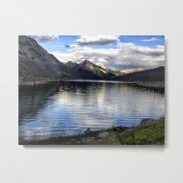 Medicine Lake - Jasper NP Metal Print