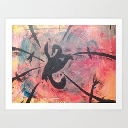 Chaotic EYE Art Print