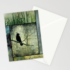 Square Of Crows Stationery Cards
