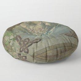 Wonderful decorative celtic knot Floor Pillow