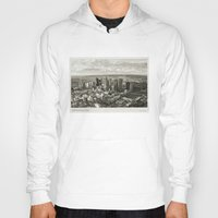 melbourne Hoodies featuring Melbourne City by Ewan Arnolda