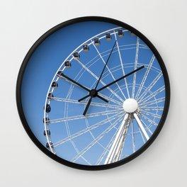 Seattle Great Wheel Wall Clock