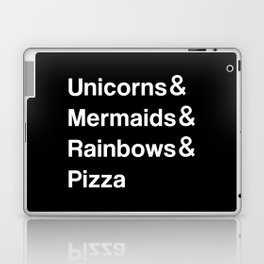 Unicorns & Mermaids & Rainbows & Pizza Laptop & iPad Skin