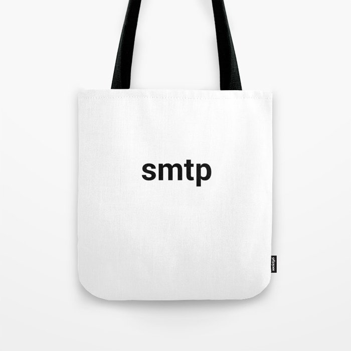 smtp Tote Bag by kennethswater