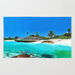 Antigua & Barbuda Nature Art Rug