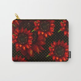 SUNFLOWERS OF AUTUMN HARVEST Carry-All Pouch