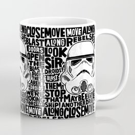 """Look Sir, Droids!"" by Matthew Taylor Wilson Coffee Mug"