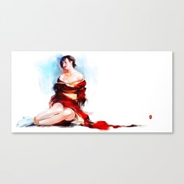 Kimono of passion No.5 Canvas Print
