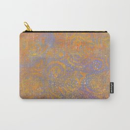 Gelatin Monoprint 23 Carry-All Pouch