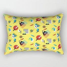 Memphis Gothic Rectangular Pillow