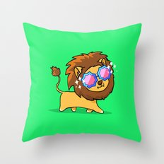 Fabulous Lion Throw Pillow