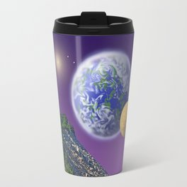"NO WORLD IS ""ALIEN"" Travel Mug"