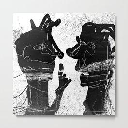 blabla Metal Print