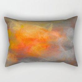 Into the light Rectangular Pillow
