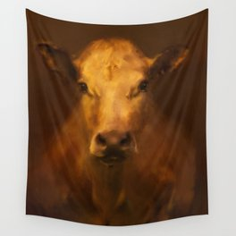 Cow 20 Wall Tapestry