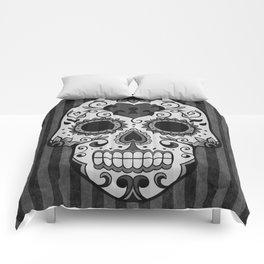 Día de los Muertos - Grey Comforters