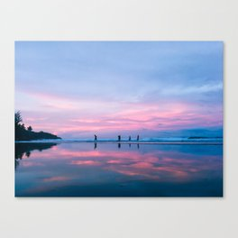 SUNSET SKIES   Real, Quezon I Canvas Print