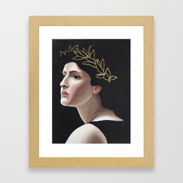 Laurel Framed Art Print