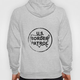 United States Border Control Stamp Hoody